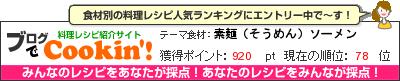 料理レシピ集 byブログでCookin'! 素麺(そうめん)ソーメン